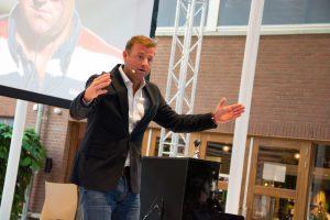 Marc Lammers tijdens Jaarcongres HRM
